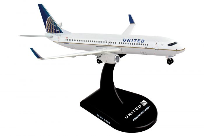 United 737-800 (1:300) by Postage Stamp Diecast Planes item number: PS5815-4