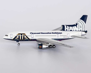 "American Trans Air ATA L-1011-500 N163AT with ""Pleasant Hawaiian Holidays"" title (1:400)"
