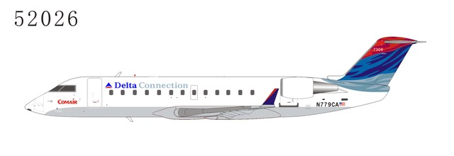 Delta Connection CRJ-100ER N779CA 2006s color (1:200), NG Models, 52026