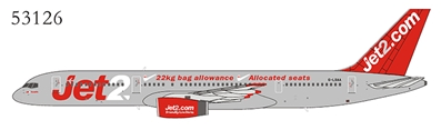 "Jet2 757-200 G-LSAA ""Great Package Holidays, Great Flight Times"" (1:400)"