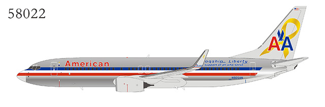 American Airlines 737-800/w N905AN Flagship Liberty (1:400) by NG Models