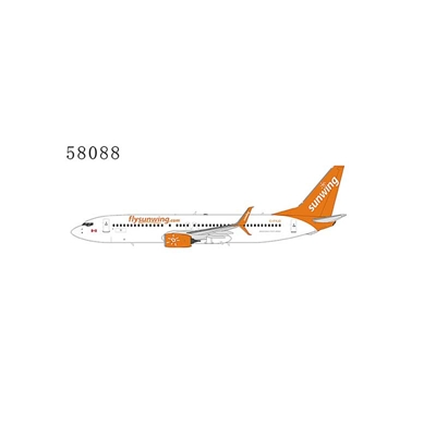 Sunwing Airlines 737-800 Scimitar Winglets C-FYJD New Colors (1:400)