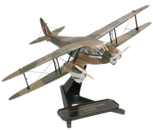 Scottish Airways, de Havilland DH.89A Dragon Rapide 'G-AGJG' (1:72), Oxford Diecast 1:72 Scale Models Item Number 72DR003