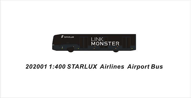 GSE Starlux BUS GSE for Starlux (1:400)
