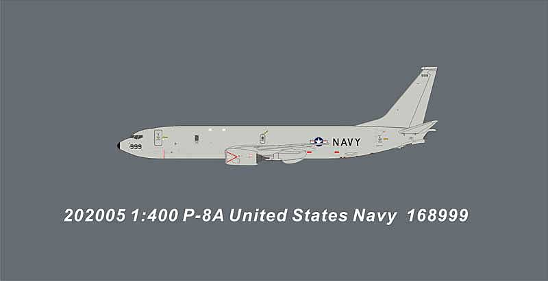 United States Navy P-8A 168999 (1:400)
