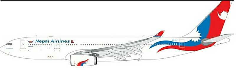 Nepal Airlines A330-200 9N-ALY (1:400) - Preorder item, order now for future delivery