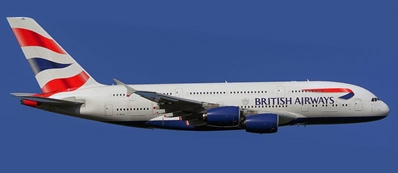 British Airways A380-800 G-XLEL (1:400)