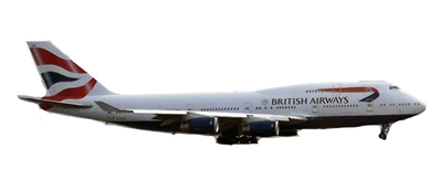 British Airways B747-400 G-BYGG (1:400)