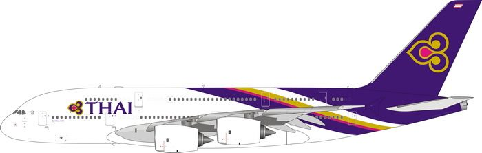 Thai Airways A380-800 HS-TUB (1:400)