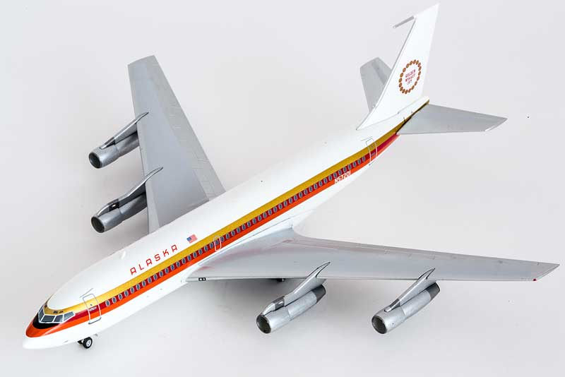 "Alaska 720 ""Golden Nugget Jet"" N75201 (1:200)"