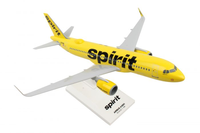 Spirit A320Neo New Livery with WiFi Dome (1:150) by SkyMarks Airliners Models item number: SKR1011