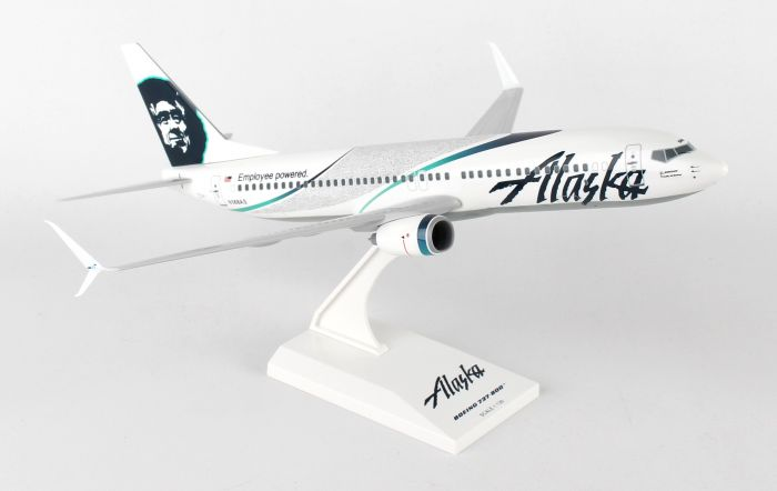 "Alaska 737-800 ""Employee Powered"" (1:130) by SkyMarks Airliners Models item number: SKR792"