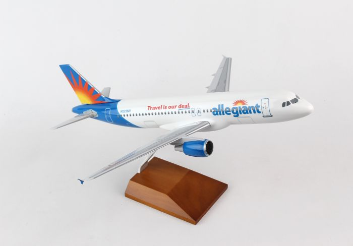 Allegiant A320-200 N223NV (1:100) by SkyMarks Airliners Models item number: SKR8324