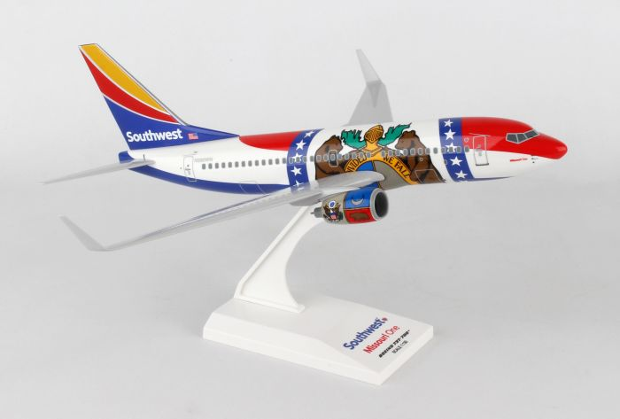 Southwest 737-700 Missouri One (1:130) by SkyMarks Airliners Models item number: SKR870