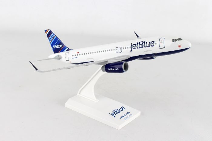 "Jetblue A320 ""Barcode"" (1:150) by SkyMarks Airliners Models item number: SKR952"