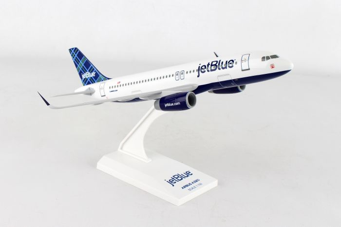 "Jetblue A320 ""Tartan"" (1:150) by SkyMarks Airliners Models item number: SKR985"