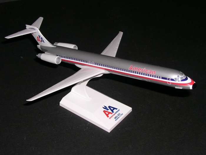 1:150 - 1:192 Scale Model Airplanes at Airline Museum