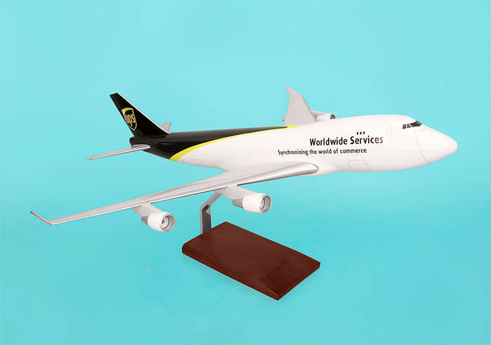 UPS 747-400 (1:100), Executive Series Display Models Item Number G30010