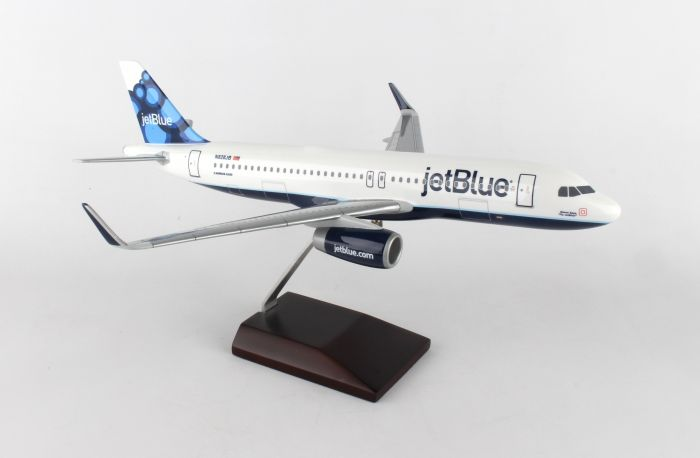 Jetblue A320 (1:100) Blueberries by Executive Series Display Models item number: G52010E
