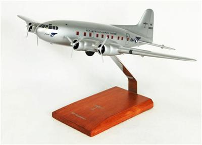 B-307 PanAm (1:72), TMC Pacific Desktop Airplane Models Item Number K307PAT