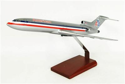 B727-200 American (1:100), TMC Pacific Desktop Airplane Models Item Number KB727AATR