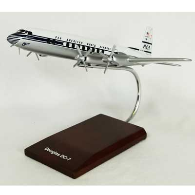 DC-7C Pan American (1:100), TMC Pacific Desktop Airplane Models Item Number KDC7CPAT