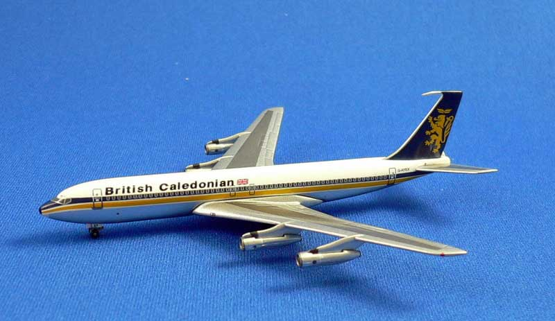 British Caledonian 707-320 B/C (1:500), InFlight 500 Scale Diecast Airline models Item Number IF5707013
