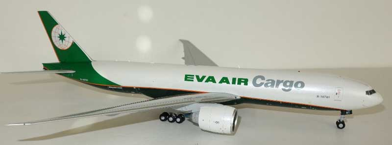 EVA Air Cargo B777F B-16781 (1:200) by JC Wings Diecast Airliners Item: JC2EVA039