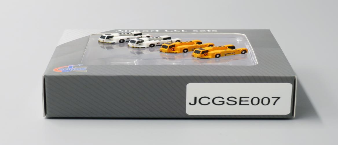 Push Back Tug 4 PACK, 2 Korean, 2 JAL (1:400) by JC Wings Diecast Airliners Item: JC4GSE007