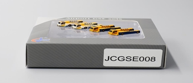 Push Back Tug 4 PACK, 2 Haeco, 2 Papas (1:400) by JC Wings Diecast Airliners Item: JC4GSE008