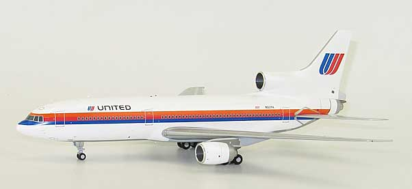 "United Airlines ""Saul Bass Rainbow Livery"" L-1011-500 Hl7578 (1:200) - Special Clearance Pricing"