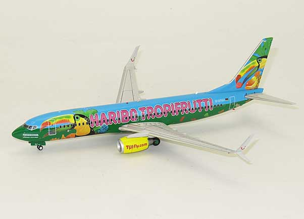 "Tuifly B737-800 ""Tropifrutti"" D-ATUJ (1:200) - Special Clearance Pricing by JC Wings Diecast Airliners Item: XX2946"