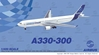 Airbus A330-300 New House Colors (1:400), DragonWings 400 Diecast Airliners Item Number DRW55797