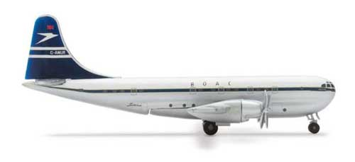 Boac B377 (1:500), Herpa 1:500 Scale Diecast Airliners Item Number HE506984