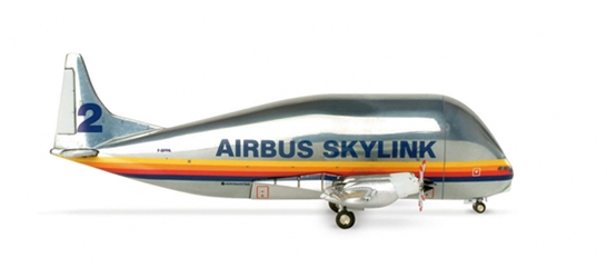 Airbus Skylink No 2 377SGT Super Guppy (1:500), Herpa 1:500 Scale Diecast Airliners Item Number HE508940