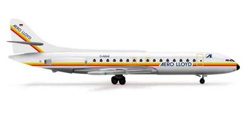 Aero Lloyd Caravelle (1:500), Herpa 1:500 Scale Diecast Airliners Item Number HE515474