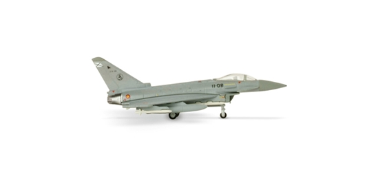 Spanish Air Force Eurofighter C-16 Typhoon (1:200), Herpa 1:200 Scale Diecast Airliners Item Number HE552295