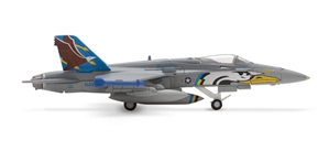 Usn F/A-18C (1:200) VF-82 Maurauders, Herpa 1:200 Scale Diecast Airliners Item Number HE552509