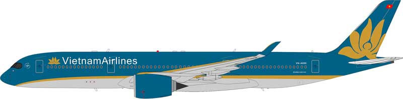 Vietnam Airlines A350-900 VN-A886, Flaps Down (1:200), InFlight 200 Scale Diecast Airliners Item Number IF3500415D
