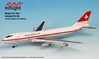 Swissair 747-200 (1:500), InFlight 500 Scale Diecast Airline models Item Number IF5742009
