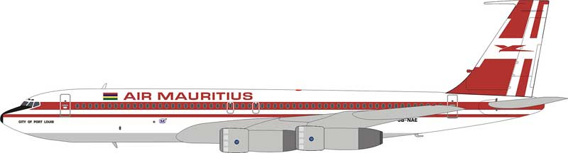 Air Mauritius 707-300 3B-NAE (1:200), InFlight 200 Scale Diecast Airliners Item Number IF7070513