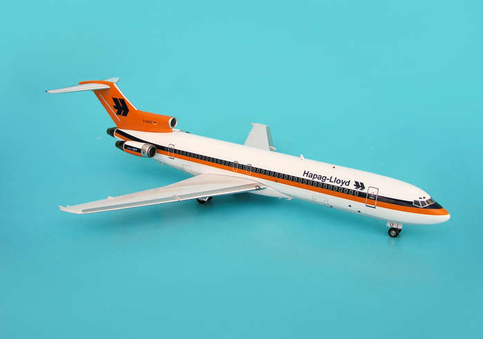 Hapag Lloyd 727-200 ~D-AHLT (1:200), InFlight 200 Scale Diecast Airliners Item Number IF722040
