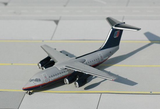 United Express BAe 146-200 - N606AW (1:400), Jet X 1:400 Diecast Airliners, Item Number JET347
