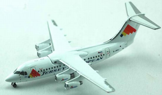 Jersey European Airways BAe 146-100 (1:400) - G-JEAJ, Jet X 1:400 Diecast Airliners Item Number JET368A