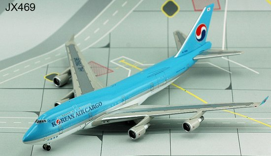 Korean Air Cargo 747-400BCF ~ HL7606 (1:400), Jet X 1:400 Diecast Airliners Item Number JET469