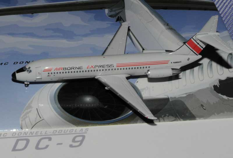 Airborne Express DC-9-30 - N989AX (1:400), Jet X 1:400 Diecast Airliners, Item Number JET558