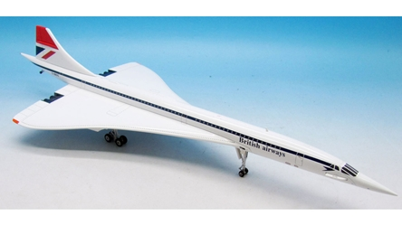 "British Airways Concorde G-BBDG Polished ""Red Tail"" (1:200) - Exclusive for Brooklands Museum, ARD Models Item Number ARD2032"