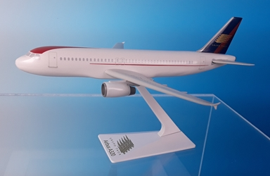 Grupo TACA A320-200 (1:200), Flight Miniatures Snap-Fit Airliners, Item Number AB-32020H-041