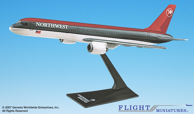 Northwest 757-200 (Old Colors) (1:200)