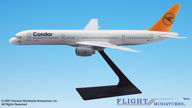 Condor B757-200 (1:200), Flight Miniatures Snap-Fit Airliners, Item Number BO-75720H-038